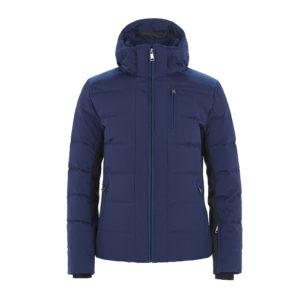 Ogier Montrose Alcantara Blue Ski Jacket Blue